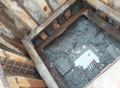 Монтаж пояса жесткости третьего уровня на объекте «Строительство обхода» г. Красное Село