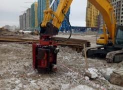Комплекс работ по монтажу и демонтажу шпунтового ограждения
