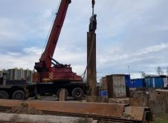Демонтаж шпунта в д. Лаврики