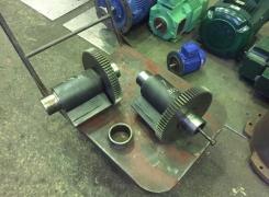 Производим капитальный ремонт вибропогружателя мовакс сп60