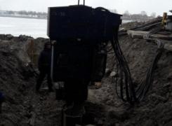 Извлечение шпунта на объекте набережная Макарова