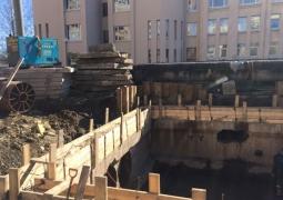 Шпунтовые работы на ул. Есенина
