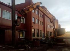 Модернизация защитного сооружения № 2543 ст. Санкт-Петербург – Главный.