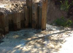 Монтаж шпунтового ограждения на объекте «Санаторно-курортное учреждение» г. Сестрорецк
