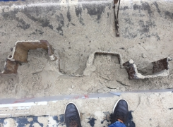 Извлечение шпунта с объекта Инженер Групп по адресу улица Ногина