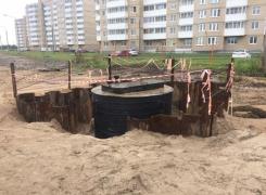 Объект «Строительство обхода» г. Красное Село
